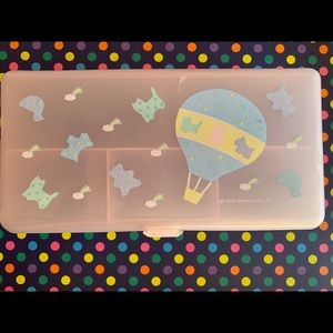 Vintage Sanrio 1989 Hot Air Balloon Pastel Box